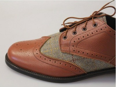 Johnston's Tweed Brogue