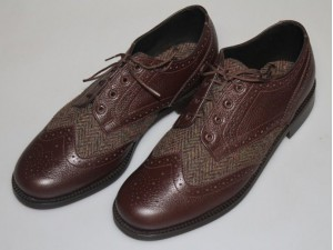 Harris Tweed Brogue